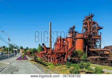 Factory-museum Of The History Of Mining Equipment.