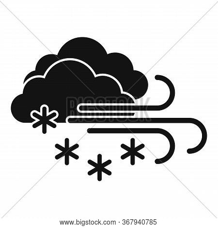Zero Blizzard Icon. Simple Illustration Of Zero Blizzard Vector Icon For Web Design Isolated On Whit