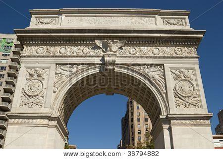 Washington Sq. Park Triumphal Arch, New York