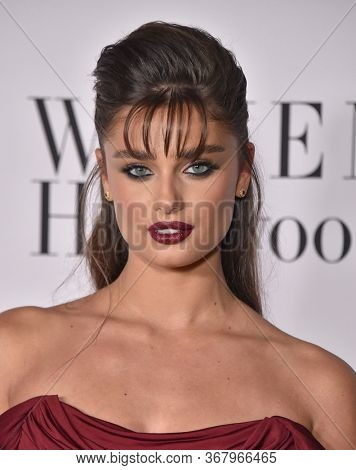 LOS ANGELES - FEB 06:  Taylor Hill {Object} arrives for 'The Way Back' World Premiere on February 06, 2020 in West Hollywood, CA