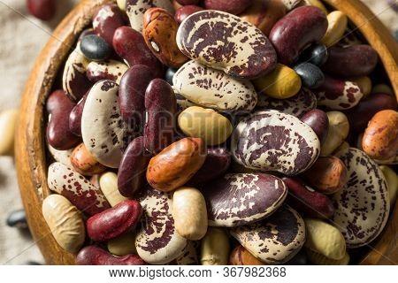 Raw Dried Organic Bean Assortment