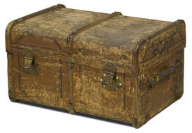Old Leather Chest