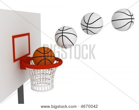 Ball In Basket