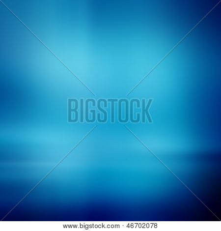 Smooth blue abstract gradient background, blue texture poster