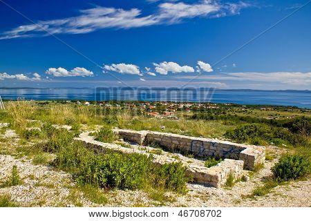 Island Of Vir Church Ruins