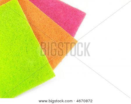 Colored Scrub Pads