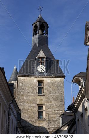 Tower In Amboise, Indre Et Loira, Centre, France