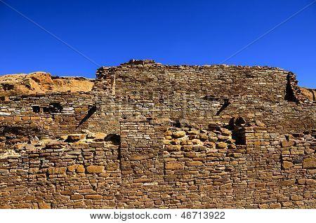 Chetro Ketl Ruin At Chaco Canyon