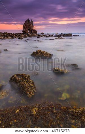Sunrise At Playa De Portizuelo