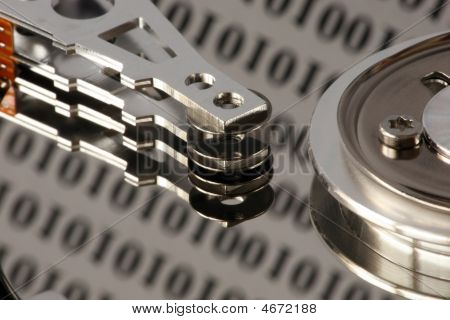 Hard Disc  With Binary Reflections