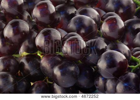 Macroshot Of Grapes