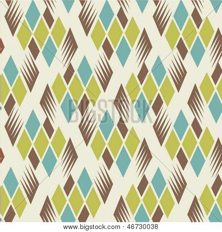 seamless retro diamond pattern 2