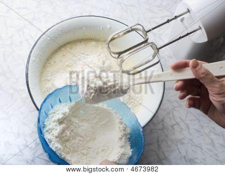 Batter Cooking