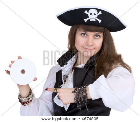 Pirate - Woman With Disc