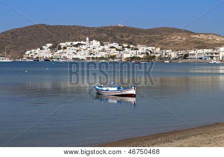 Milos island in Greece