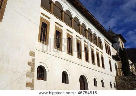 Polovragi Monastery In Romania