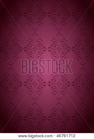 Ottoman Pattern and pink background