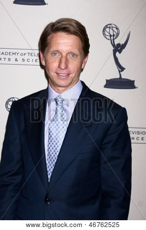 LOS ANGELES - JUN 13:  Brad Bell arrives at the Daytime Emmy Nominees Reception presented by ATAS at the Montage Beverly Hills on June 13, 2013 in Beverly Hills, CA