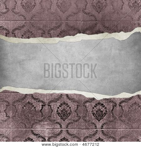 Grunge Vintage Wallpaper -trorn Bannner