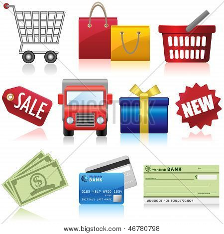 Shopping and Business Icons