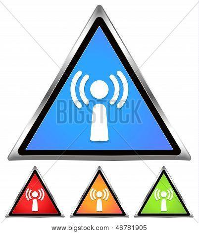 Wifi / Antennae / Wifi sign, icon