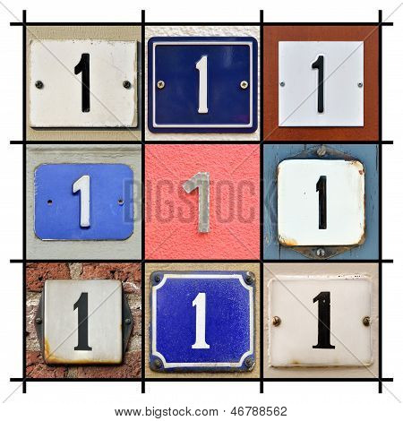 House Numbers One