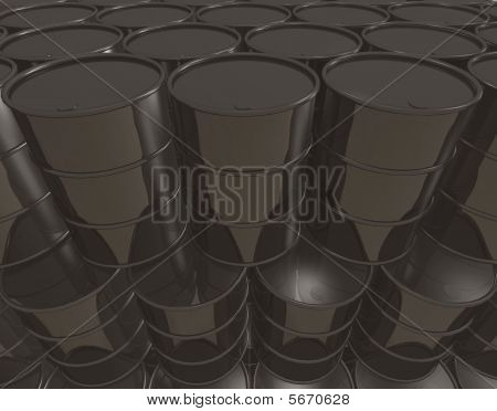 Oil Cans Background