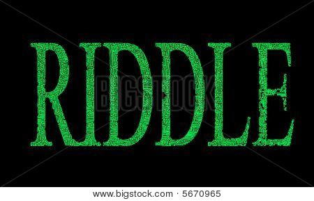 Riddle In