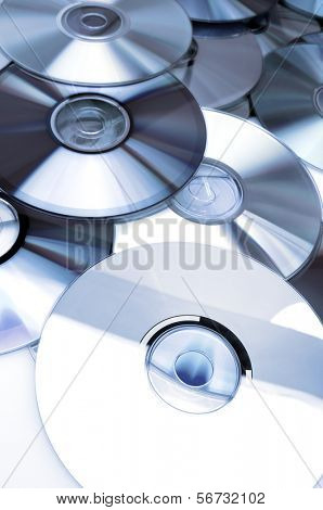 Given a set of DVDs scattered on a table