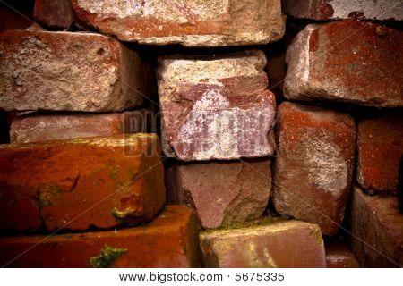 Pile Of Old Bricks