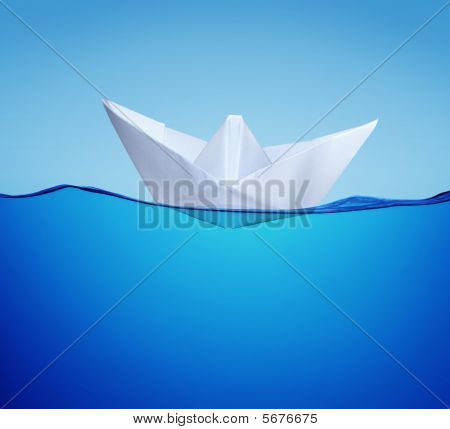 Paper Toy-ship