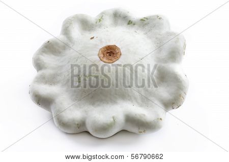 Squash On A White Background