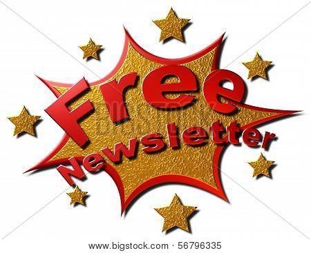 Free Newsletter (explosion)