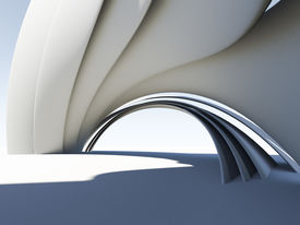 Abstract 3D arch