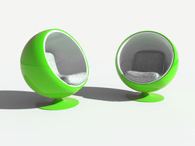 Green Stylish Chairs