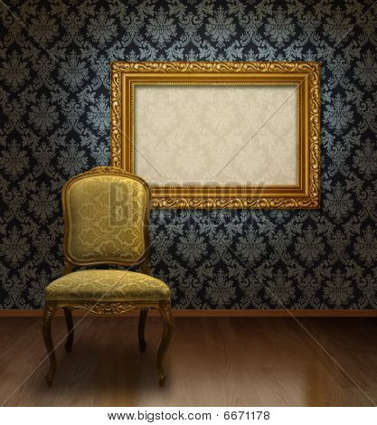 Classic Chair And Frame