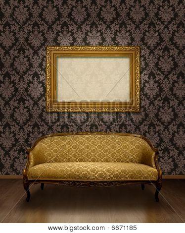 Classic Sofa And Frame