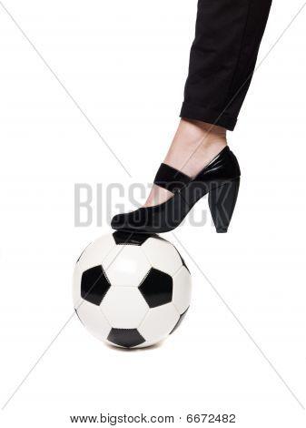 Female footballer