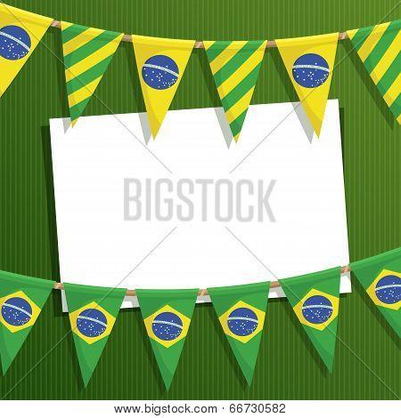 Brazil Party Card
