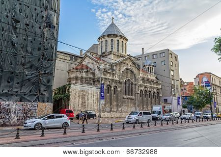 Church of St. Peter and Paul in Istanbul