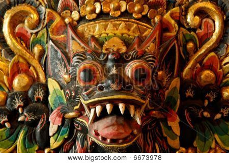 Face Of A Patron Saint From Indonesia