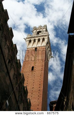 Siena Public Palace's Tower