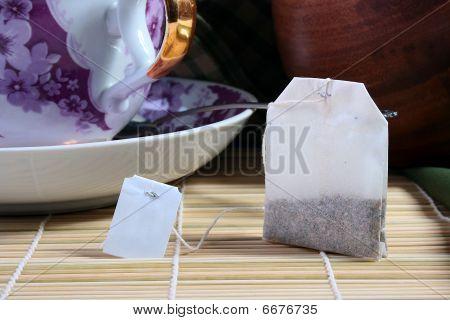 Tea In A Paper Bag