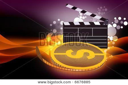 Dollar film roll