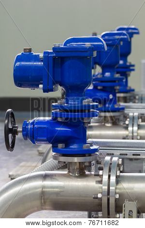 Industrial Pipes And Valves