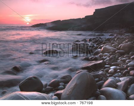 Little Haven Sunset, Pembrokeshire, UK