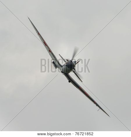Spitfire British Fighter Plane