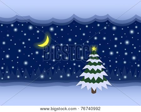 Christmas And New Year Fairy Vector Seamless Background