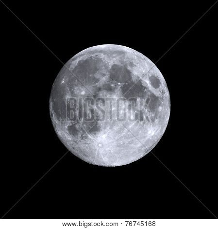 Isolated Full Moon