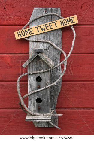 Bird House Home Tweet Home